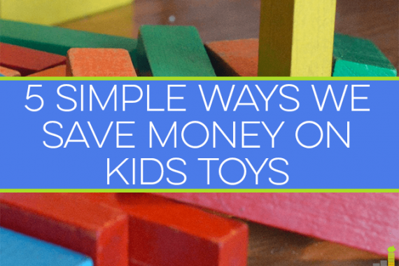 You can save money on kids toys if you're creative. I share my go-to ways to save money on toys that our kids love and keep more money in our pockets.