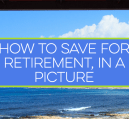 Last week was save for retirement week. Who knew? Seriously though, saving for retirement is an important matter that takes time and discipline to achieve.
