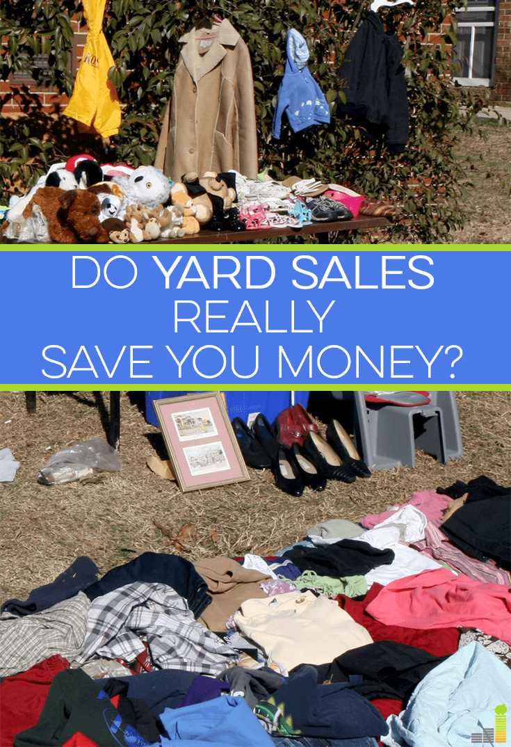 Yard sales can be a great way to save money, but can easily lead to buying junk you don't need. Here is why you might think twice about the next yard sale.