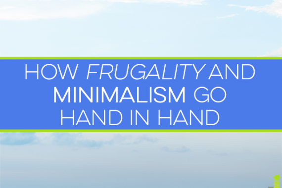 Minimalism frees you to live a life free of excess junk. If the minimalist movement isn't for you, here's how your frugality can help get you there.
