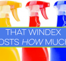 Do you really need that shiny blue bottle of sweet-smelling Windex to get your windows clean, or will a homemade recipe get the job done just as well?