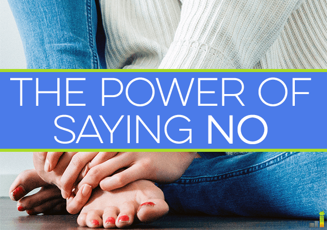 Saying no feels bad, and sometimes even dirty but it's actually a good, and very powerful word, especially when you use it to change the way you live.