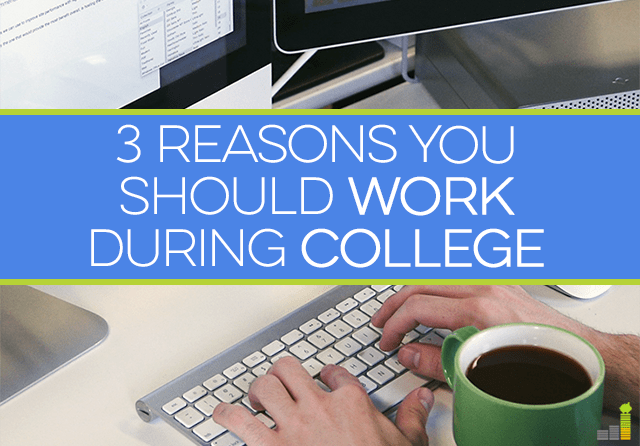 You can work during college with a little balance. Here are 3 reasons why students should work while in college and how they can benefit from their time.