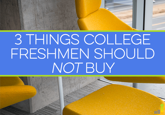College freshmen are about ready to step on campus for the first time. It's easy to let spending get out of hand. Here are 3 tips to keep spending in check.