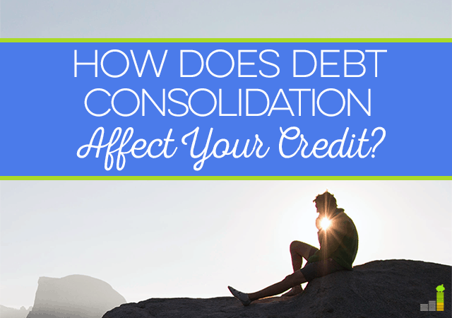 Does consolidating debt hurt credit
