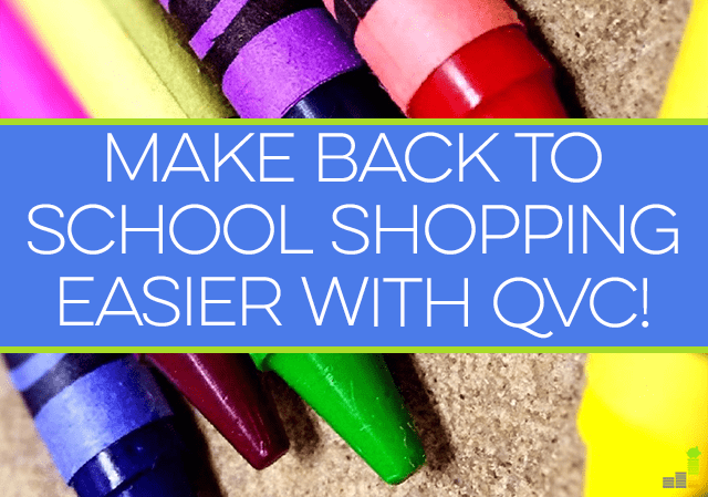 It's time for back to school shopping. While it can be expensive, check out this option from QVC to help ease the burden of spending for the school year. #QVC