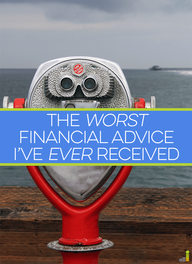 The worst financial advice I've received left me speechless. Here are reasons why spending all your money now only robs from your future self of freedom.