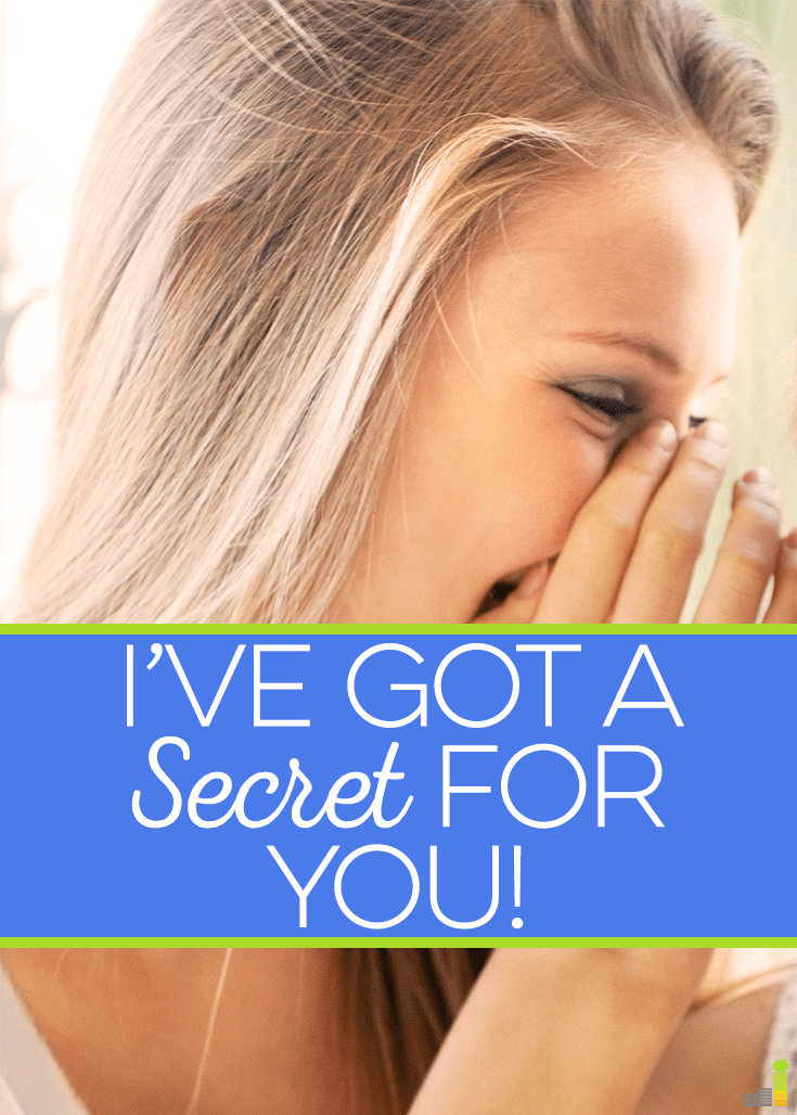 I've got a secret for you! People are fearful because of the recent stock market craziness. I share a shocking secret that will help you during this time.