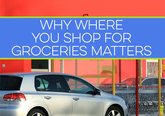 Where do you shop for groceries? Your answer could mean the difference between saving or spending more. Learn why you should shop around, even with stores.
