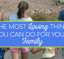 The most loving thing you can do for family is provide for them when you pass. I share why Life Insurance Awareness month is the time to get coverage.