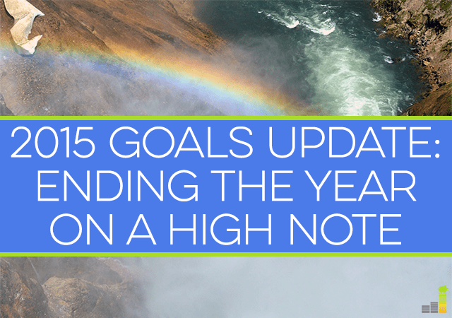 The third quarter has passed, so it's time to go over my goals for 2015. With a few months left in the year there's still time to achieve your goals.