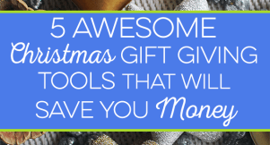 Christmas gift giving can be quite costly, especially when you have many to buy for. I share my go-to tools that saves me real money on Christmas shopping