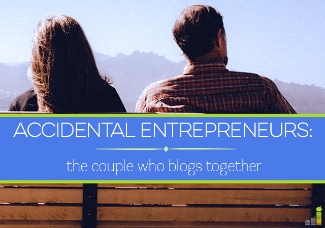 Today, we're featuring two accidental entrepreneurs, a couple who blogs together and makes it their full time job.