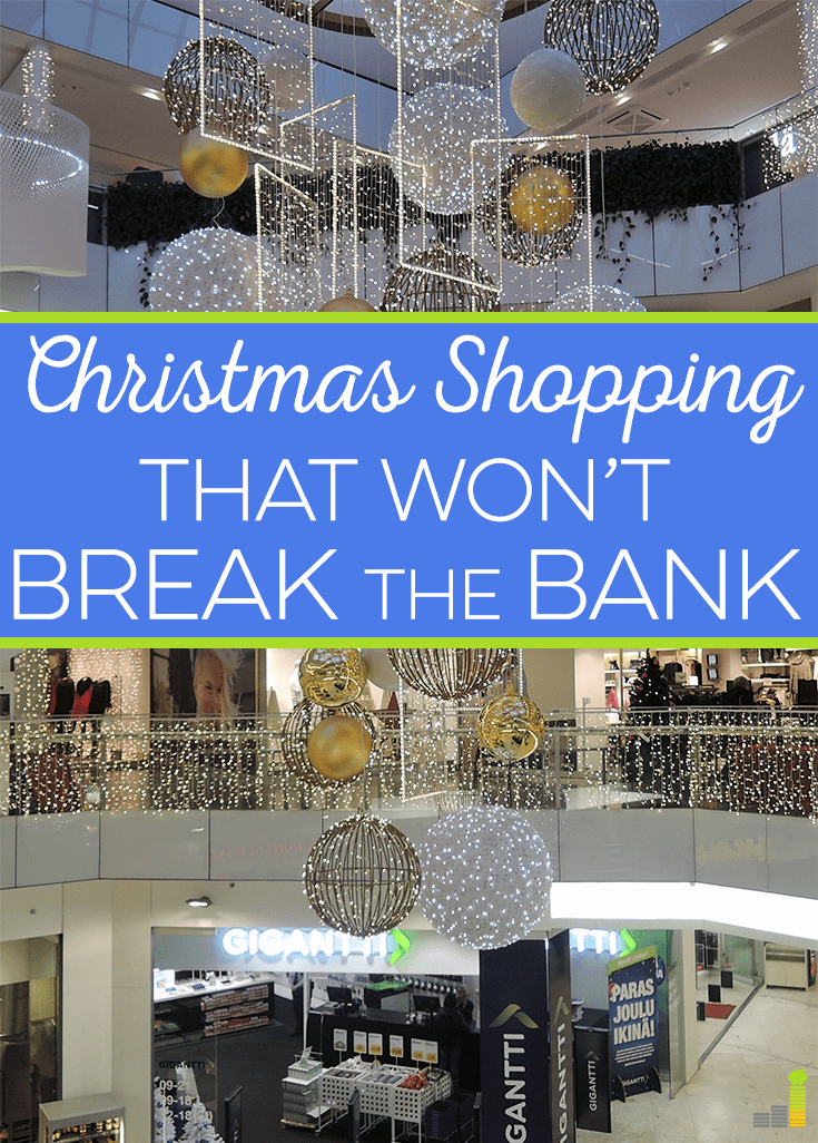 It's easy to save money on Christmas shopping with a little bit of creativity and planning. Here are some tips to help you out.