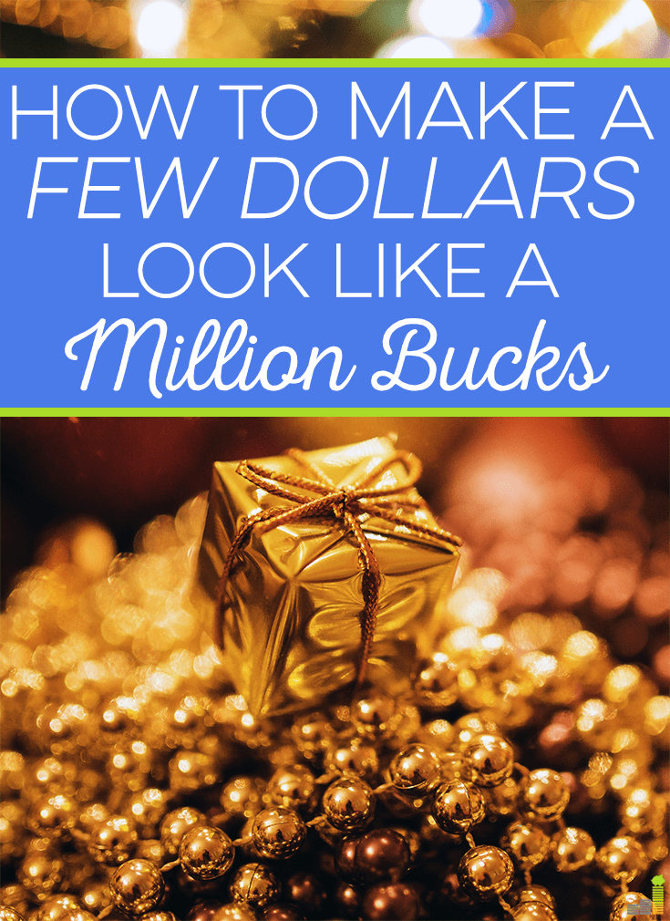 A few dollars can buy an inexpensive gift, but will it look nice? I share some simple frugal tips to make even the cheapest gift look like a million bucks.