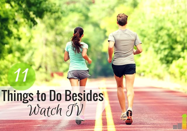 Do you watch TV but wonder why you don't have time for hobbies or interests? Here are 11 things you can do besides watching TV that will maximize your time.