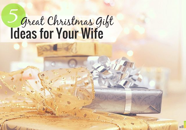 Christmas gift ideas for your wife can be difficult to come up with. I share - 5 Great Christmas Gift Ideas For Clueless Husbands - Frugal Rules
