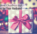 Coming up with Christmas gift ideas for my husband has been harder than I thought it would be. Over the years, I've learned a good list goes a long way.