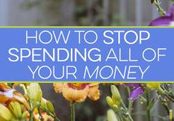 It can be hard to stop spending money if you've never budgeted. Here are 3 simple ways to stop spending money foolishly and not give up happiness.