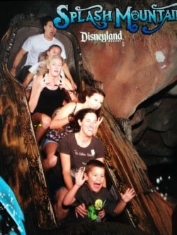 Disneyland having fun