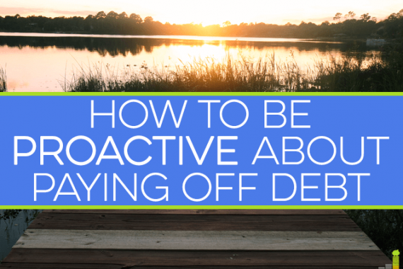Want to climb out of debt and never look back? Then you need to learn how to be proactive about paying off debt. Here's how you can get started today.