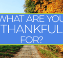 What are you thankful for? It's cliche, but it's Thanksgiving and time to give thanks for things in our lives. Here are a few things I'm thankful for.
