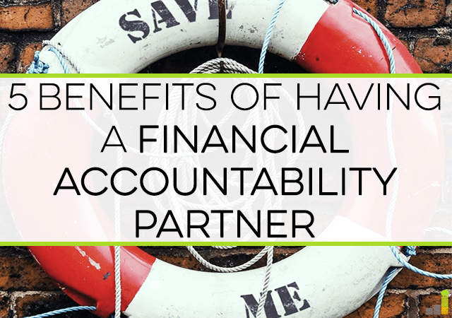 Having a hard time paying off debt or saving for a major goal? Get a financial accountability partner - here's 5 ways having one can help you succeed!