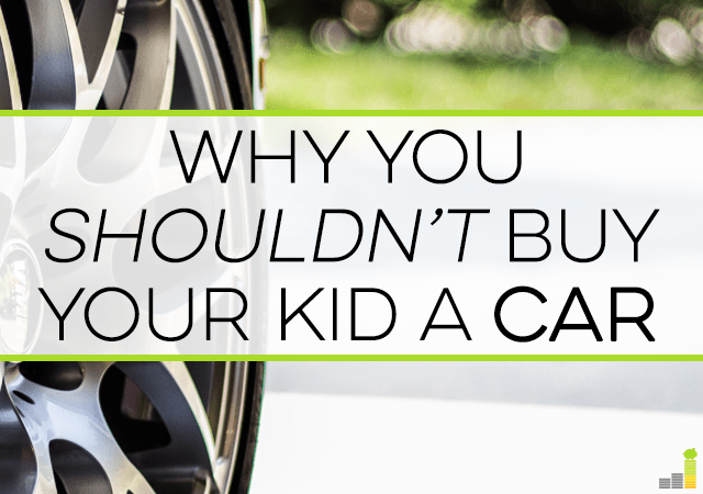 Buying your kid a car can be tricky as you don't want to spoil them. Here are tips to use the situation to teach financial literacy and responsibility.