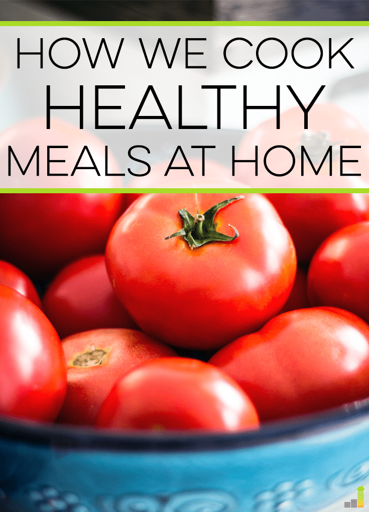 Healthy meals at home can be a challenge when you're busy. Here's a great option for healthy, yet creative, meals with little work.