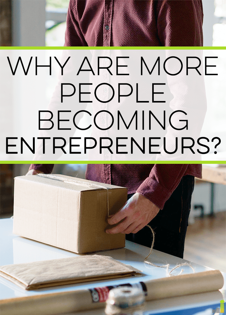 More people are becoming entrepreneurs than ever, which is exciting to see. Here are some of the reasons why I like working for myself.