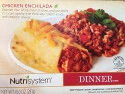 nutrisystem chicken enchilada