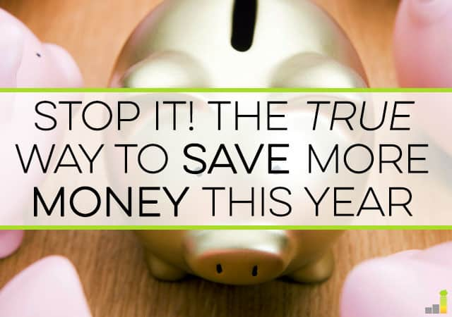 Do you want to save more money in 2016? If you follow this one simple trick you'll be able to save significant money this year and every year thereafter.