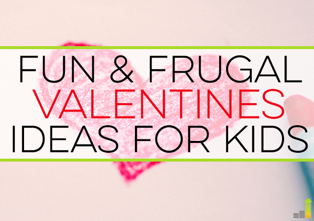 Frugal Valentines ideas for kids are all around you! Here are some creative ideas to celebrate valentines day both at home and elsewhere.