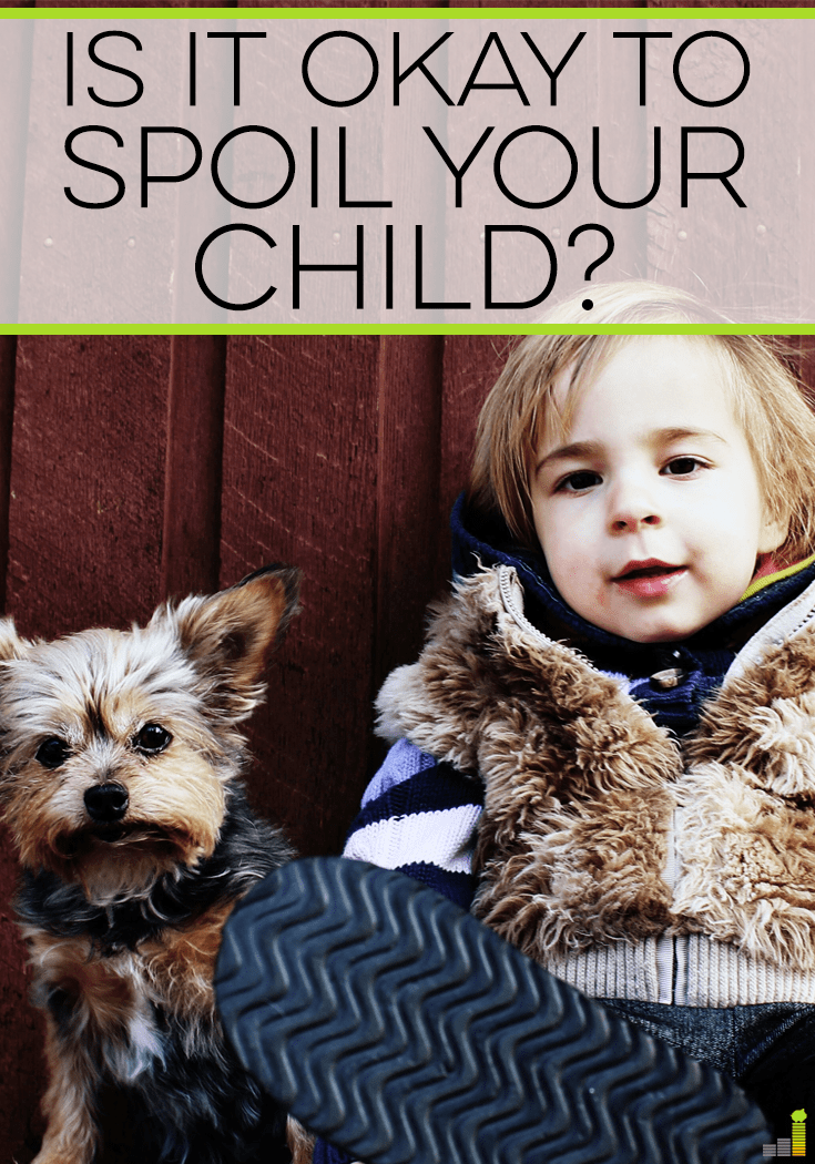 Is it okay to spoil your child or does that just set them up for a lifetime of high expectations? Here's how to spoil them the right way.