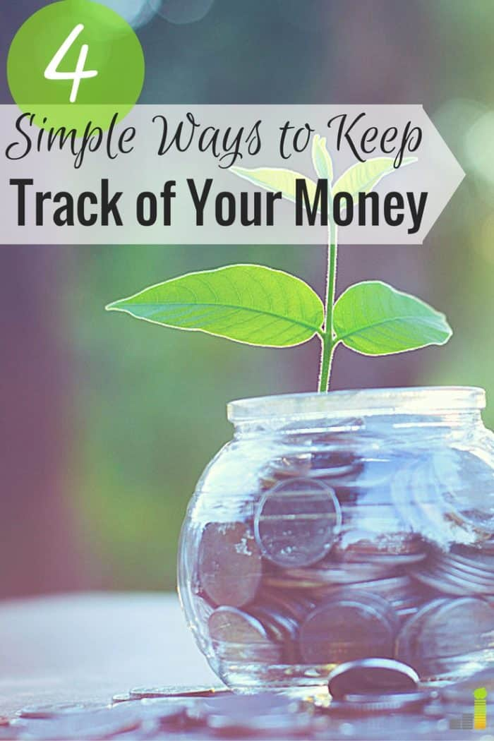 4 ways to keep track of your money