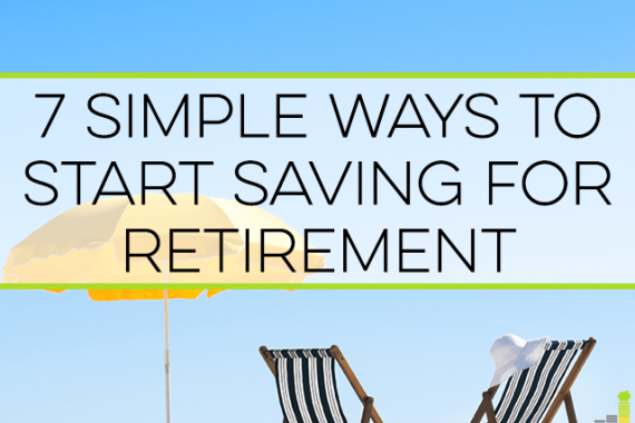 Saving for retirement can be a challenge when you have little money. Here are 7 great ways to start saving for retirement that anyone can do.