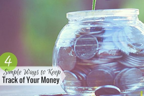 Keep track of your money easily with these four methods so you know where your money is going, how much is coming in, and how to use it best.
