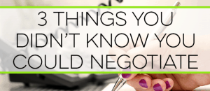 You can negotiate many bills to save money. Here are 3 things you didn't know you could negotiate to save you thousands of dollars.