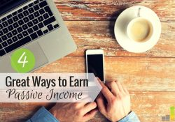 Earning passive income is a great way to pursue financial independence. Here are 4 passive income ideas anyone can start with a little work.