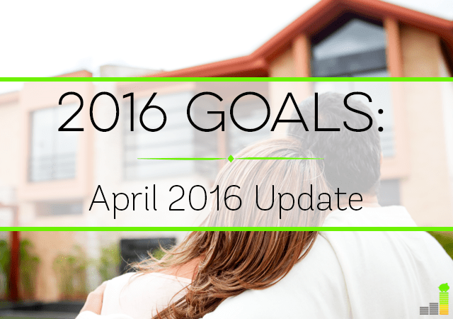 We're already 4 months into 2016 so it's a good time to go over goals. Here's how we're doing so far this year, with some exciting news.