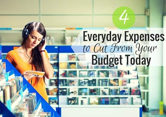 Looking for common expenses to cut from your budget? Here are 4 expenses you can cut today and start saving money every month.