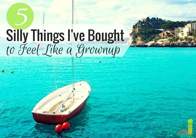 As a grownup I've bought many things, some of which make me feel silly. Here are 5 things I've bought as an adult that I now regret.