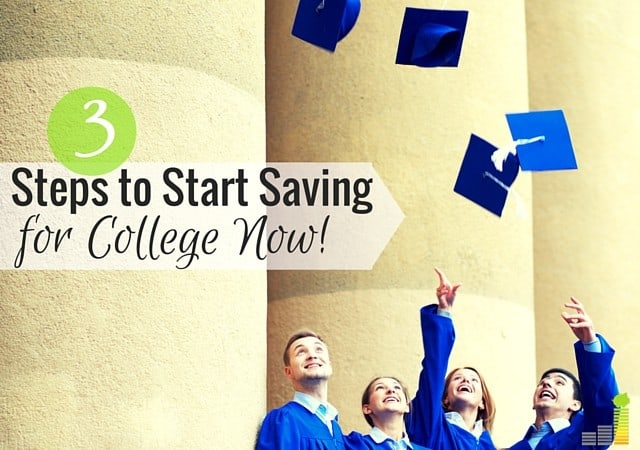 You can start saving for college in many ways and at many amounts. Here are 3 things to keep in mind as you save for your child's college education.