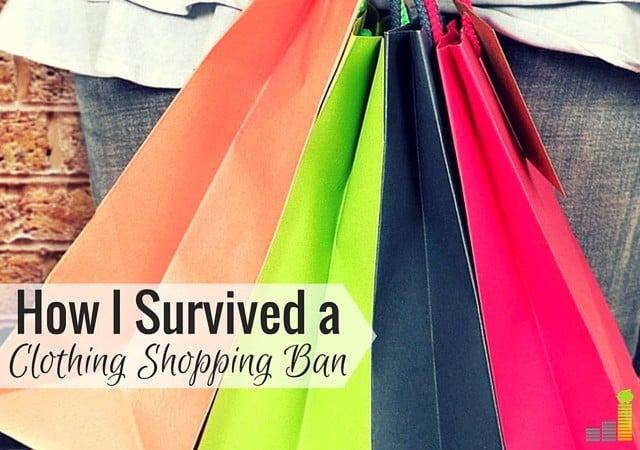 A clothing shopping ban is a great way to curb spending tendencies. Here's how my clothes shopping ban saved me money and be minimalistic.