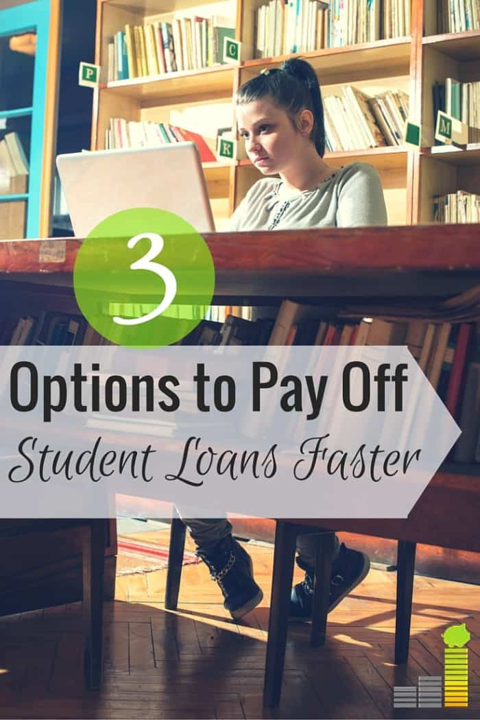Best option for paying student loans