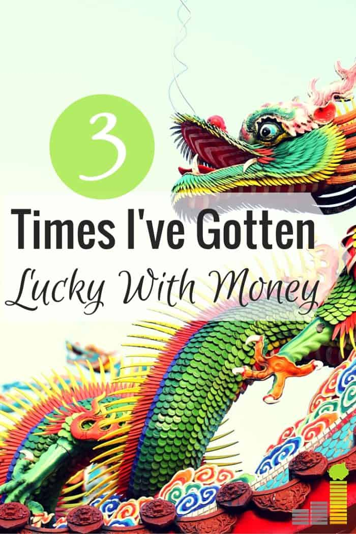 Are you lucky with money? I share 3 instances in my life where I've been lucky with finances, largely due to the advantages I've had.