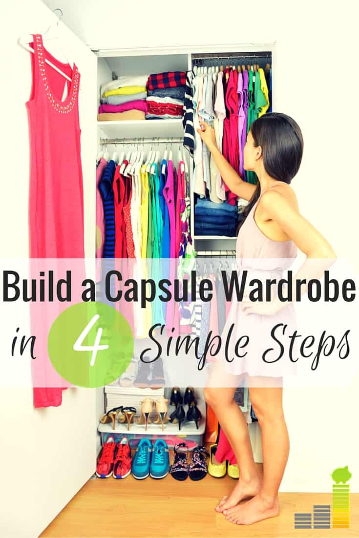 462ea9e24043 A capsule wardrobe is a great way to save money and cut down on excess  clothes