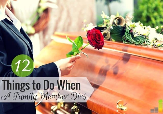 When a loved one dies there are many things to do. Here's a list of 12 steps to take after a loved one dies to manage their estate and protect yourself.