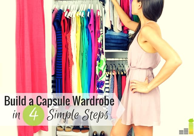 A capsule wardrobe is a great way to save money and cut down on excess clothes. Here's how to build a minimalist wardrobe for cheap and look great.