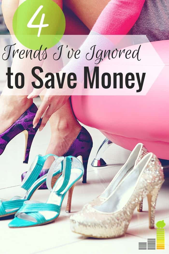 Trends are popular to follow, but they can be expensive. Here are 4 trends I've ignored to save money and how you can too.